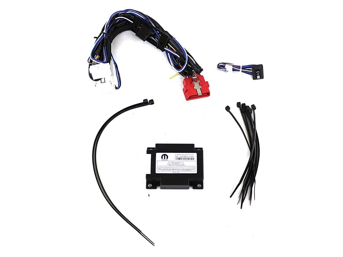 Genuine Jeep Accessories 82211666 Wiring Kit